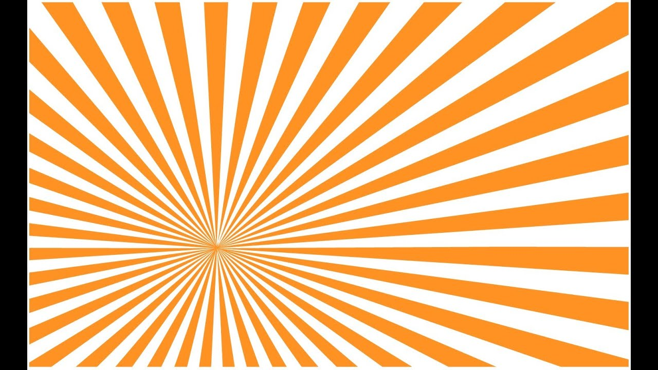Illustrator tutorial: Create a Vector Sunburst Quickly and