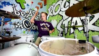 Get Yourself Back Home Radio Edit Gym Class Heroes See Briggs Rock Drum Cover
