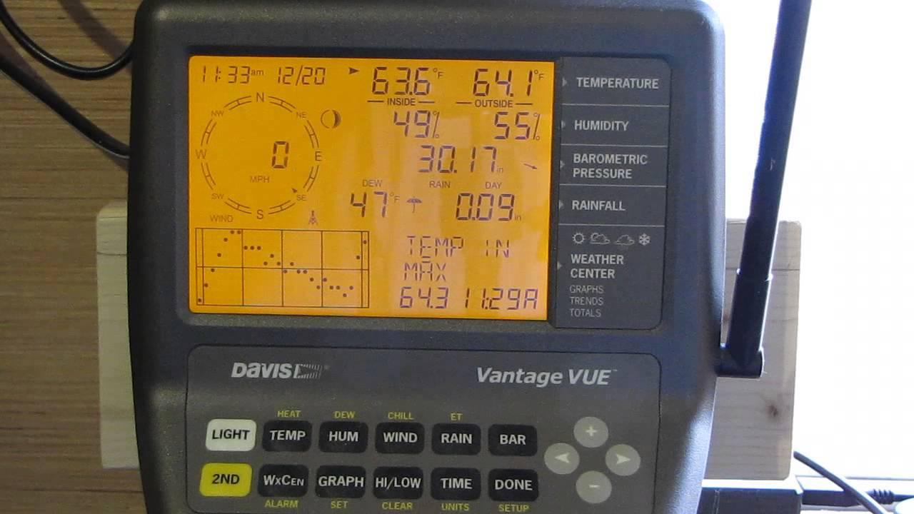 Davis Vantage Vue >> Davis Vantage Pro 2 6322 Integrated Sensor Suite With ...
