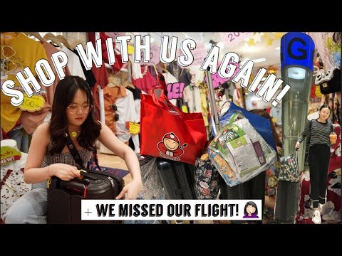 BEST SHOPPING PLACE IN BANGKOK  + WE MISSED OUR FLIGHT! | ASHLEY SANDRINE