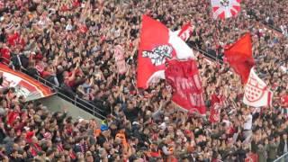 1.FC Köln - Borussia Dortmund 1:1 (1:0) 10.12.2016 Stimmung Heimkurve Ultras Effzeh Zusammenschnitt