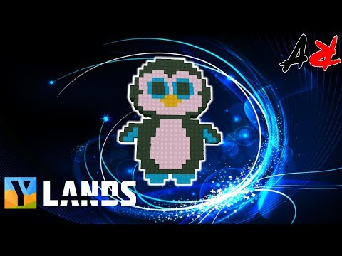 Ylands - Creative - Penguin Express Part 1of2 - Logo (Build/PixalArt/Creative Game)