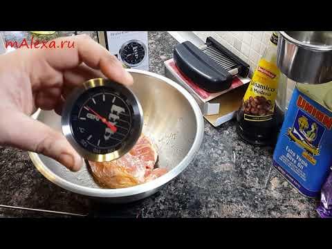 Нежнейшее мясо! Низкотемпературное приготовление мяса в духовке + гриль 1я часть