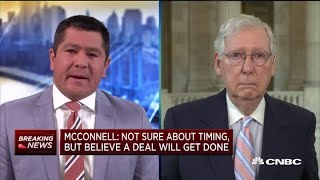Senate did not wąit too long to put forward new stimulus plan: Mitch McConnell