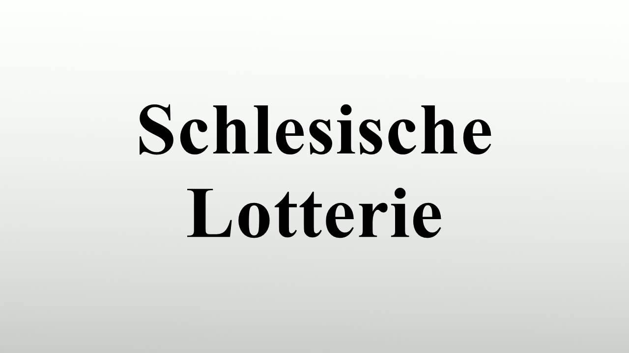 Schlesische Lotterie