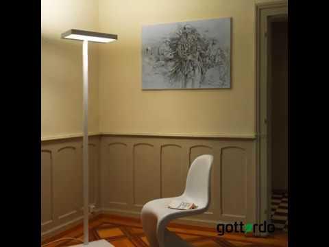 LED-Stehleuchte gottardo Serie H: RGBW