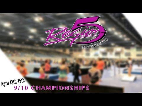 2018 Region 5 Gymnastics Championships Level 9 (JR3, JR4, SR5)
