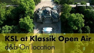 The KSL System at the Klassik Open Air. d&b On location