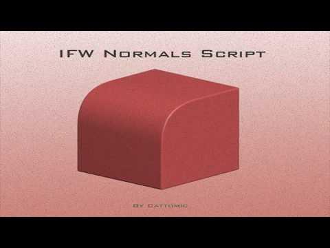 IFW Normals Script Demo