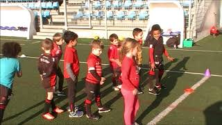 Rugby Ecole du RCT M6 Training Physical Perform Live TV Sports Saison 2018/2019