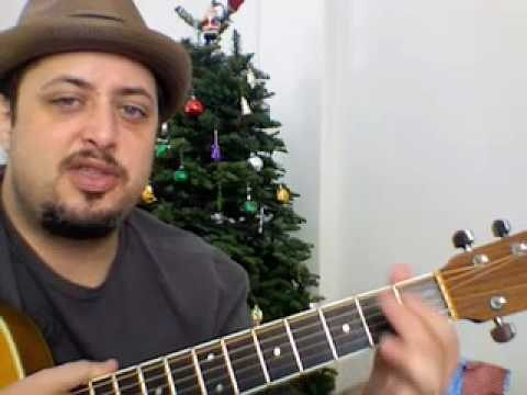 Easy Christmas Songs on Guitar - Feliz Navidad - Jose Feliciano