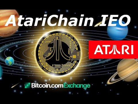 ATARI CHAIN IEO ON THE BITCOIN.COM EXCHANGE - The future on the interactive entertainment industry