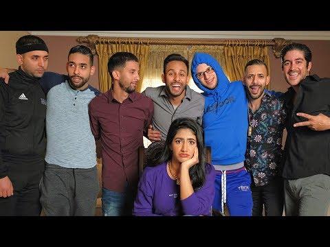 بنت و سبع اخوان | نور ستارز و انور جيباوي