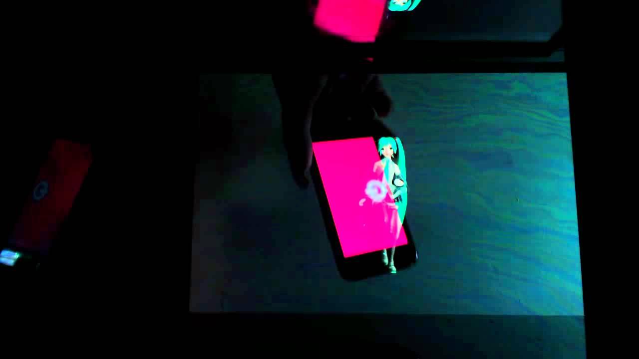hatsune miku hologram