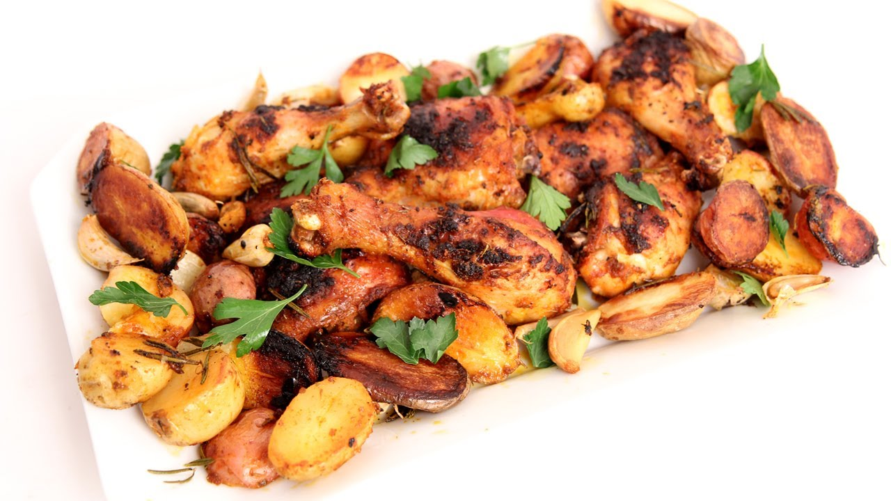 pan roasted potatoes and onions