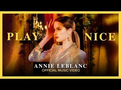 "PLAY NICE | Annie LeBlanc | ""Crown Lake"" Official Music Video"