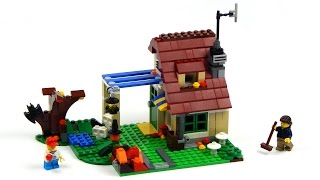 Lego Creator 31038 Changing Seasons Model B - Autumn Cottage Speed Build