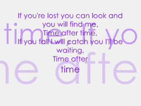 Time After Time By Jessica Mauboy +lyrics