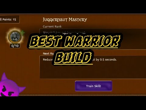 ARCANE LEGENDS - [UPDATE] BEST WARRIOR BUILD  (SENSEI TERRORSHOCK) LVL 71 (2018/2019)