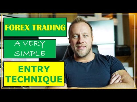 ANYONE CAN TRADE FOREX   A VERY Simple Entry Technique