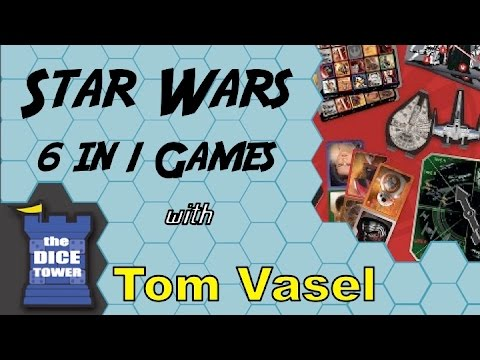 Star Wars 6 in1 Games Review - with Tom Vasel