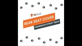 Hammock Strap Trick for your Rear Seat Cover.