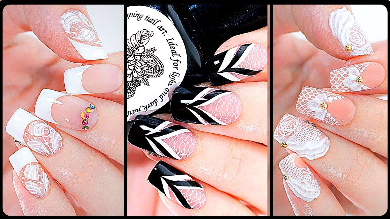 Best Wedding Nail Art Designs 10 💅👰 Easy DIY Nails Art Compilation for  Short and Long Nails