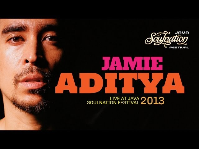 Jamie Aditya Live at Java Soulnation 2013