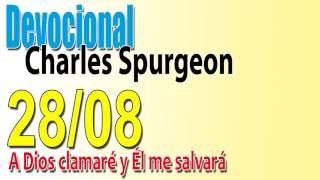 Devocional Charles Spurgeon 28/08 - A Dios clamaré y el me salvará