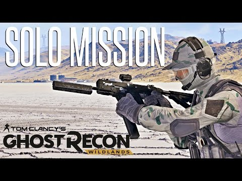 A VECTOR AND A GHOST - Ghost Recon Wildlands Solo Mission (Hardest Difficulty)