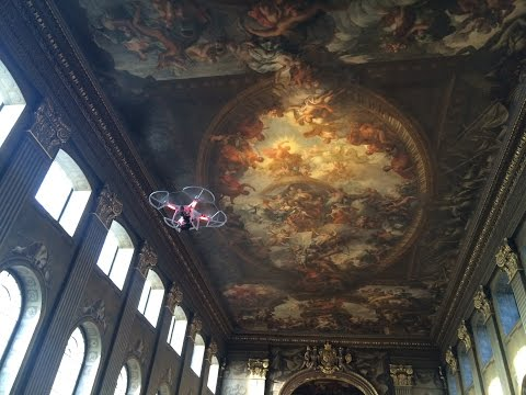 Tour the Painted Hall by Drone