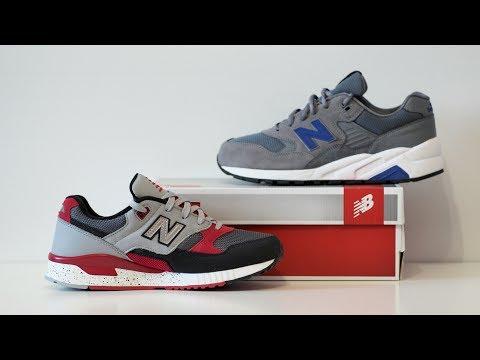 Обзор кроссовок New Balance 530 и 580