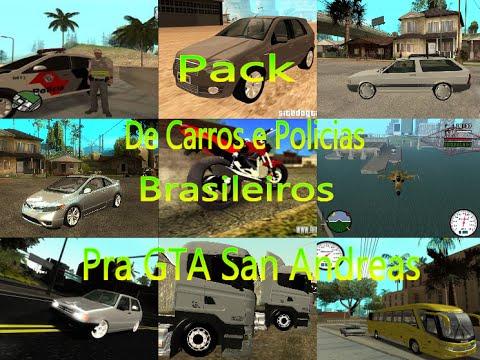 pacote de carros brasileiros gta san andreas