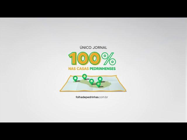 JORNAL 100% NAS CASAS PEDRINHENSES
