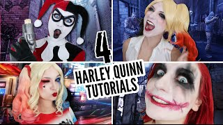 4 HARLEY QUINN TUTORIALS IN 6 MINUTES thumbnail
