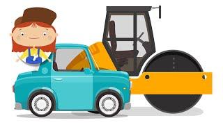 Мультики про машинки: Доктор Машинкова. Ямы на дороге.