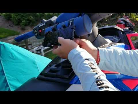 Pwcbrackets how to install Cellphone holder jet ski