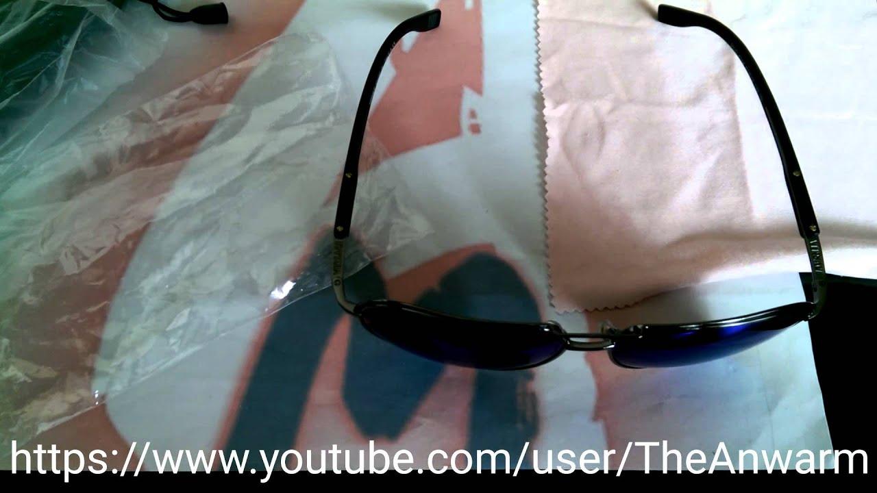 ac9678e0b0e How to Spot Fake Versace Mens Sunglasses - YouTube