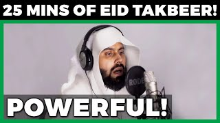 Gambar cover [POWERFUL!] 25 MINUTES OF EID TAKBEER BEFORE EID SALAH | تكبيرات العيد قبل صلاة العيد | MUIZ BUKHARY