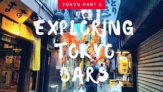 Tokyo Japan Part 3 Visiting Shinjuku \\ Piss Alley & Golden Gai \\ Sky Tree