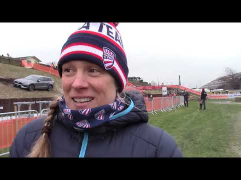 Katie Compton: 2019 Cyclocross Worlds Course Inspection
