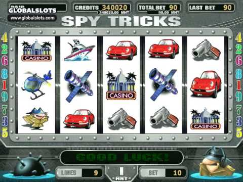 Видео Игровой автомат spy tricks