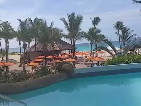 Hilton Hotel Bridgetown Barbados. Pool View.