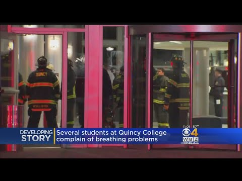 Quincy College Building Evacuated, 2 Transported Following Hazmat Situation