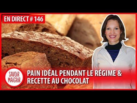 Pain idéal pendant le régime & recette au chocolat - Méthode Savoir Maigrir #146