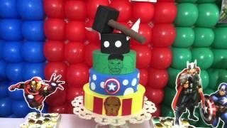 Festa- Tema os Vingadores