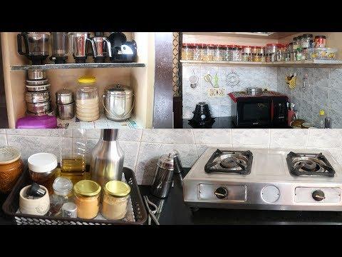 My Kitchen Tour | kitchen Organization Tips and Ideas | Kitchen Hacks in Tamil