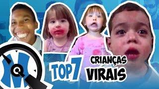 Crianças mais Famosas da Internet | Top 7 | QminutosQ S02E22