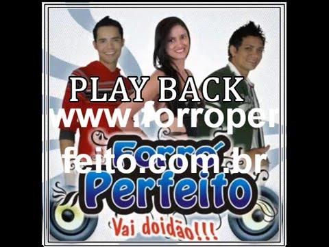 Play Back Samara forró Perfeito instrumental Karaoke