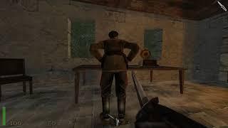 return to Castle Wolfenstein - Оружие возмездия. База в лесу. Задание 3 часть 1